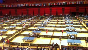 World Veterans Table Tennis Championships in Stockholm 2012