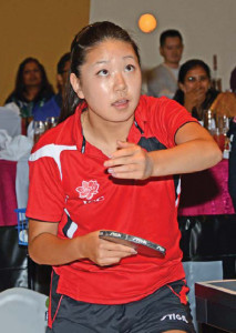 Lily Zhang, looking forward to the Youth Olympic Games