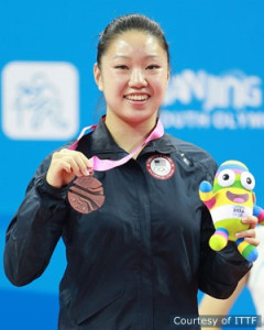 YOG Bronze Medal for Lily Zhang