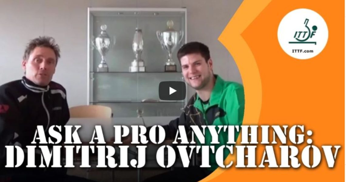 Dimitirj Ovtcharov – Ask a Pro Anything