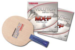 Tibhar Samsonov Force Pro w/ Evolution MX-P rubber