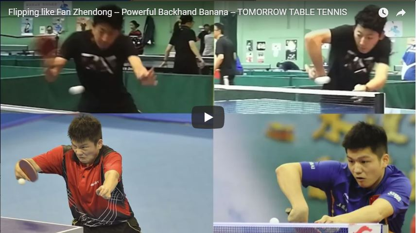 Flipping like Fan Zhendong