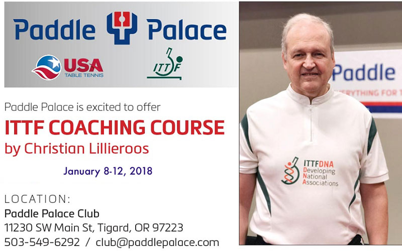 ITTF Coaching Course