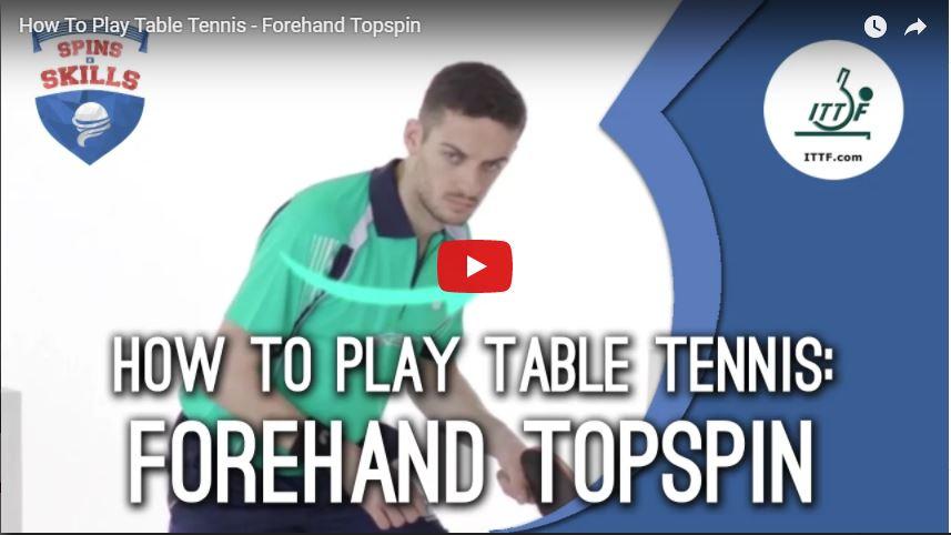 ITTF Forehand Topspin