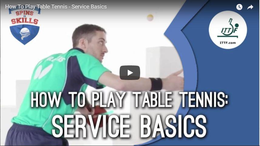 ITTF Service Basics