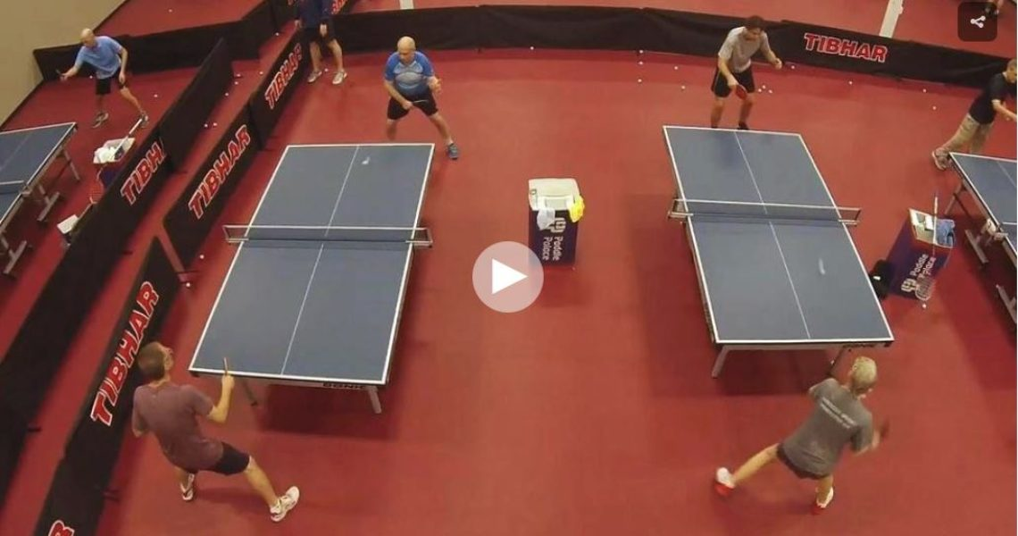 Table tennis anyone? The sport's growing and Paddle Palace is a popular spot to play it