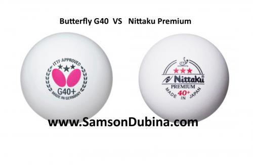 butterfly vs nittaku