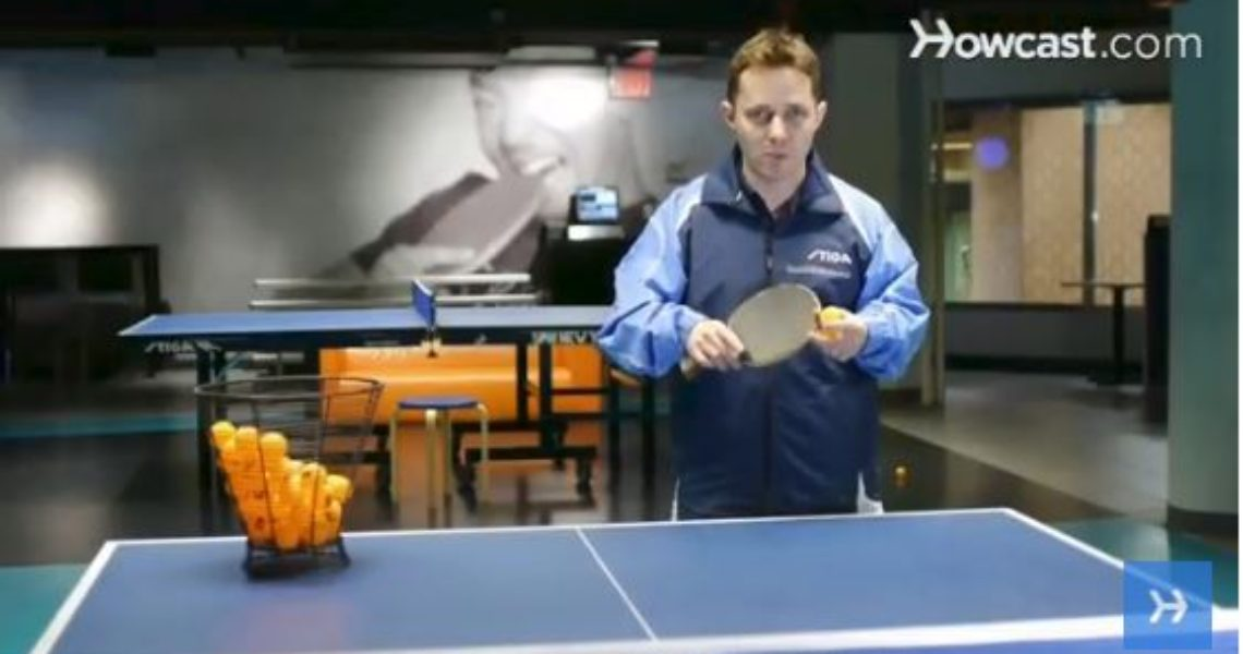 How to Pick Table Tennis Equipment by Tahl Leibovitz