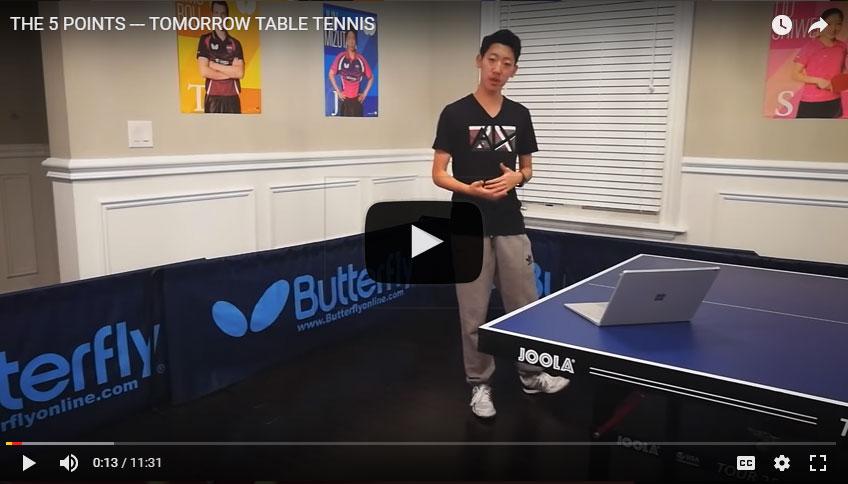Tomorrow Table Tennis