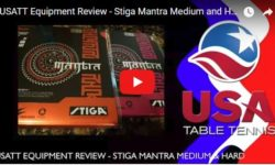 USATT STIGA Mantra Review