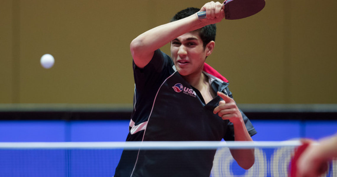 USA's JHA Wins ITTF World Junior Circuit Finals