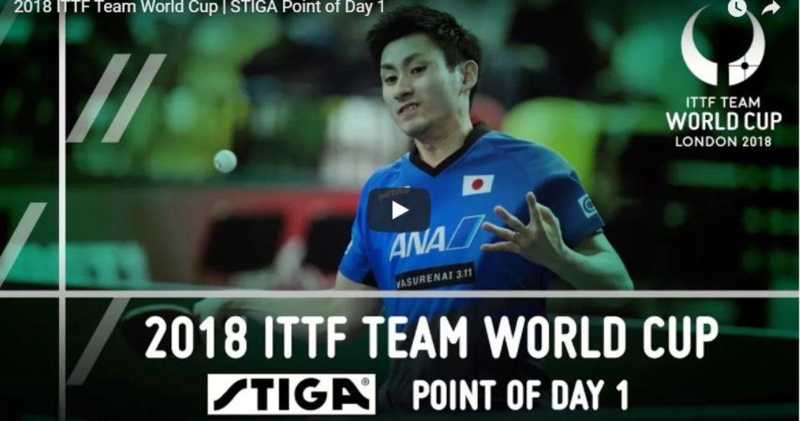 2018 ITTF Team World Cup – STIGA Point of Day 1