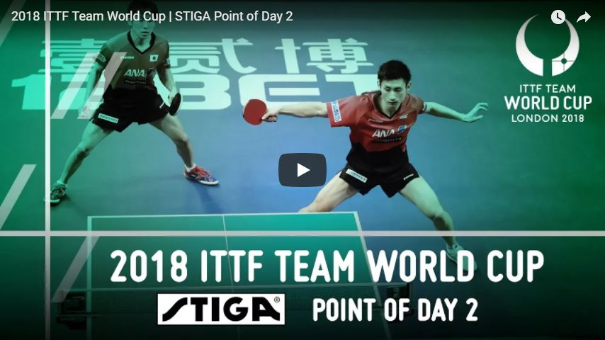 2018 ITTF Team World Cup | STIGA Point of Day 2