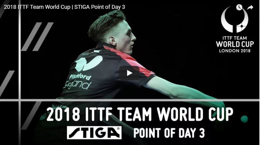 Team Word Cup Point of the Day by STIGA
