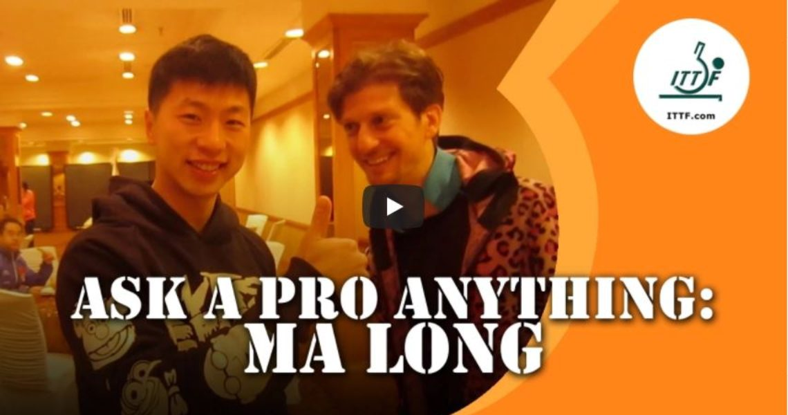 Ma Long – Ask a Pro Anything