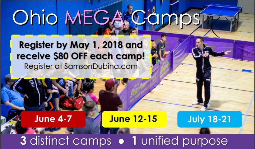 Ohio Mega Camps!