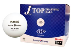 Nittaku J-Top Training Ball 40+ Bulk Pack (10 dozen)