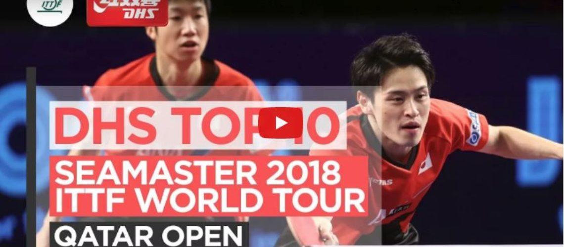 DHS ITTF Top 10 Points – 2018 Qatar Open