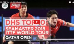 DHS ITTF Top 10 - 2018 Qatar Open