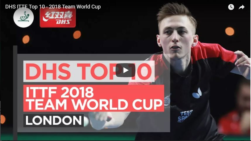 DHS ITTF Top 10 - 2018 Team World Cup