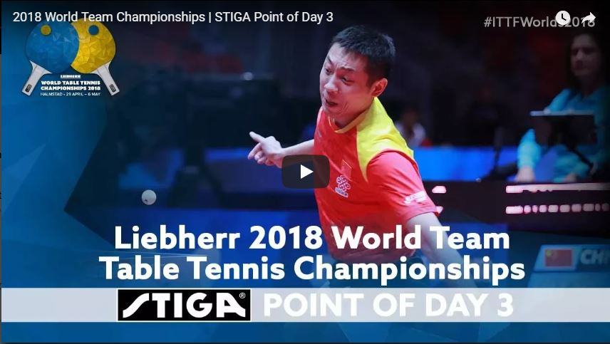 2018 World Team Championships Point of the Day - 3
