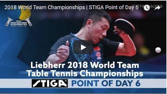 2018 World Team Championships Point of the Day - 6