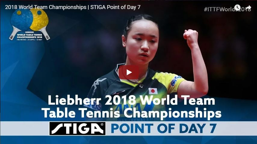 2018 World Team Championships - Point of the Day - 7