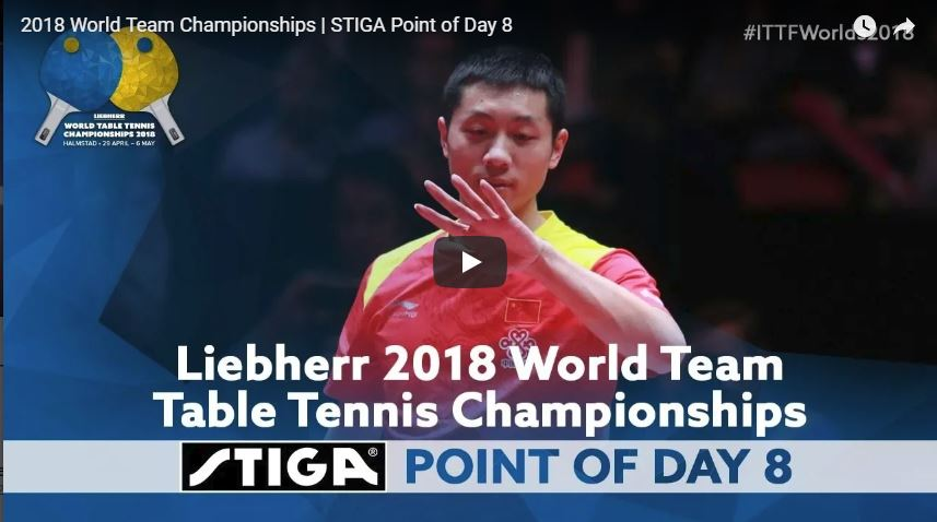 2018 World Team Championships point of the Day - 8
