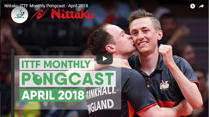 Nittaku Pongcast 04-18