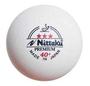 Nittaku 3-Star Premium 40+ Balls