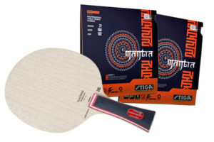 Pro Special: Stiga Carbonado 245 with Stiga Mantra H Rubber