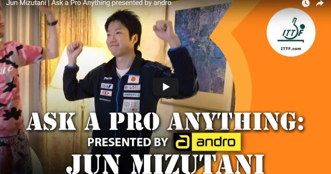 Jun Mizutani –  Ask a Pro Anything presented by andro