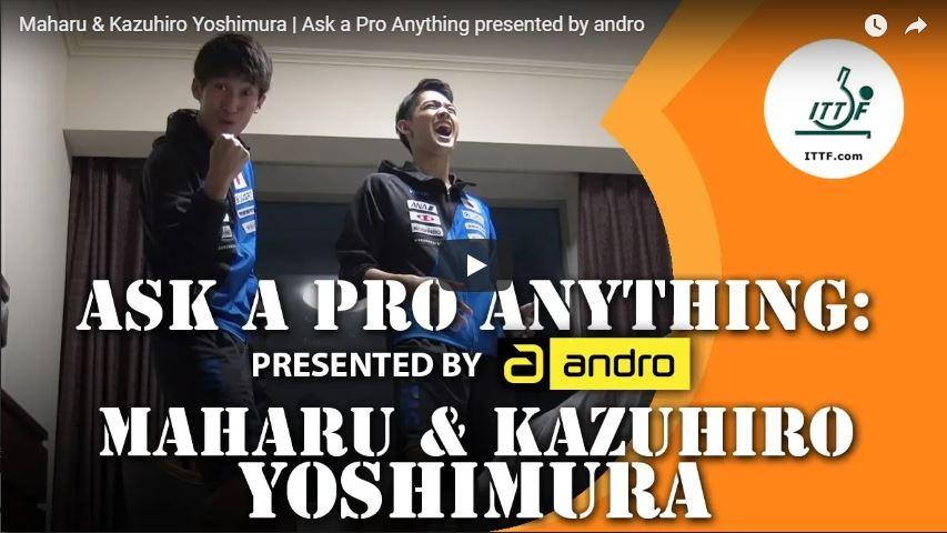 Maharu & Kazuhiro Yoshimura Ask a Pro Anything by Andro