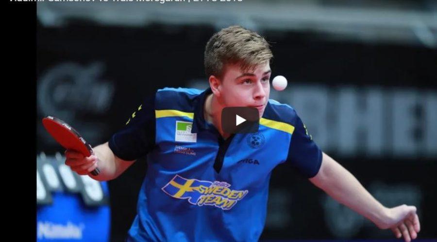 Vladimir Samsonov vs Truls Moregardh   ETTC 2018