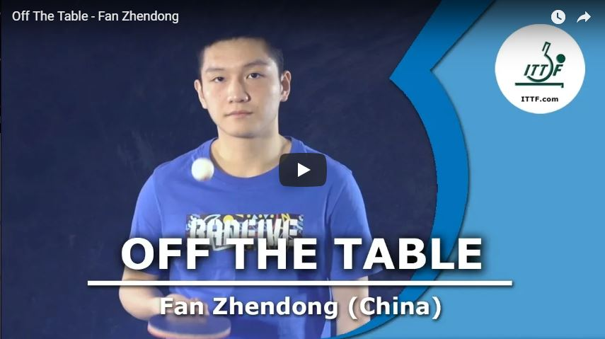 Fan Zhendong - Off The Table Interview