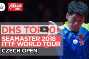 DHS ITTF Top 10 Points – 2018 Czech Open