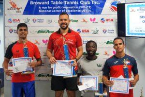 2018 December Broward Table Tennis Club Open