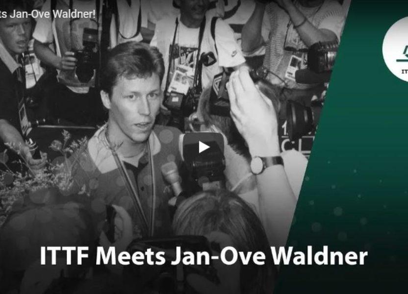 ITTF Meets Jan-Ove Waldner!