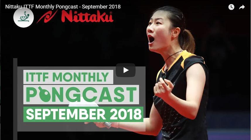 ITTF Nittaku Pongcast 09-18