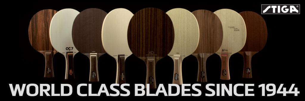 STIGA Blades