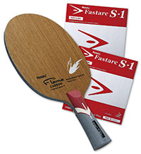 PRO SPECIAL: Nittaku Flame Carbon with Fastarc S-1