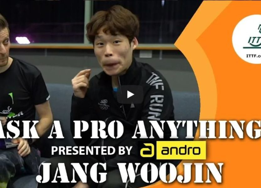 Jang Woojin –  Ask a Pro Anything presented by andro