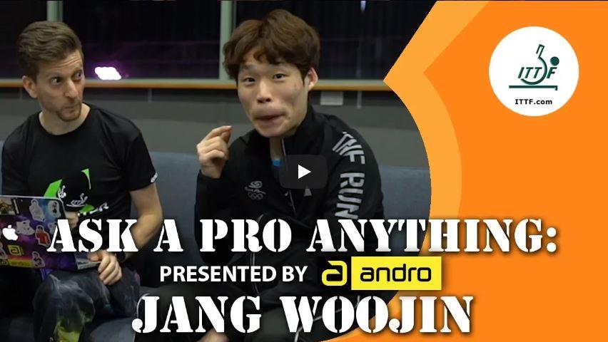andro Ask a Pro Anything - Jang Woojin