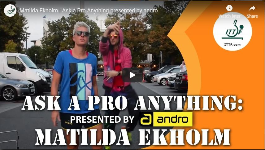Maltida Ekholm Interview