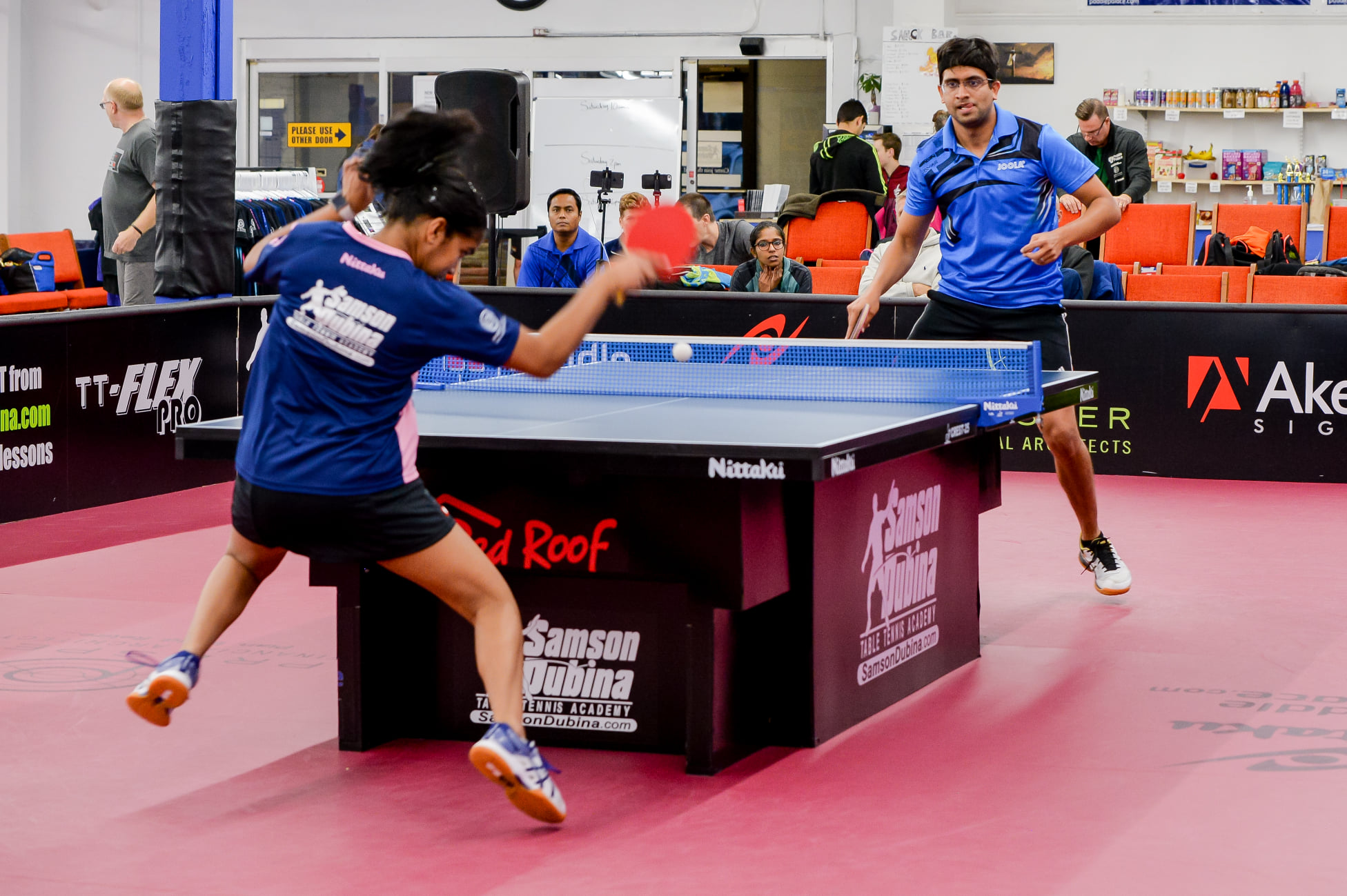 Samson Dubina Table Tennis Academy