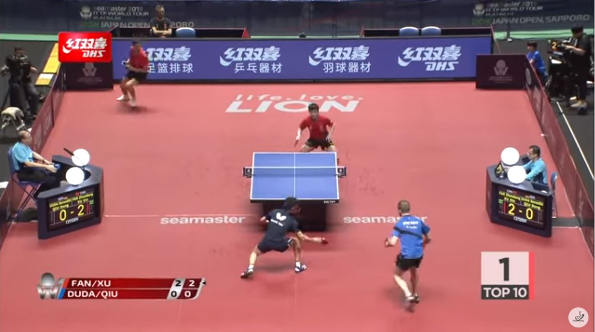 DHS Top 10 Table Tennis Points   Best Of 2019
