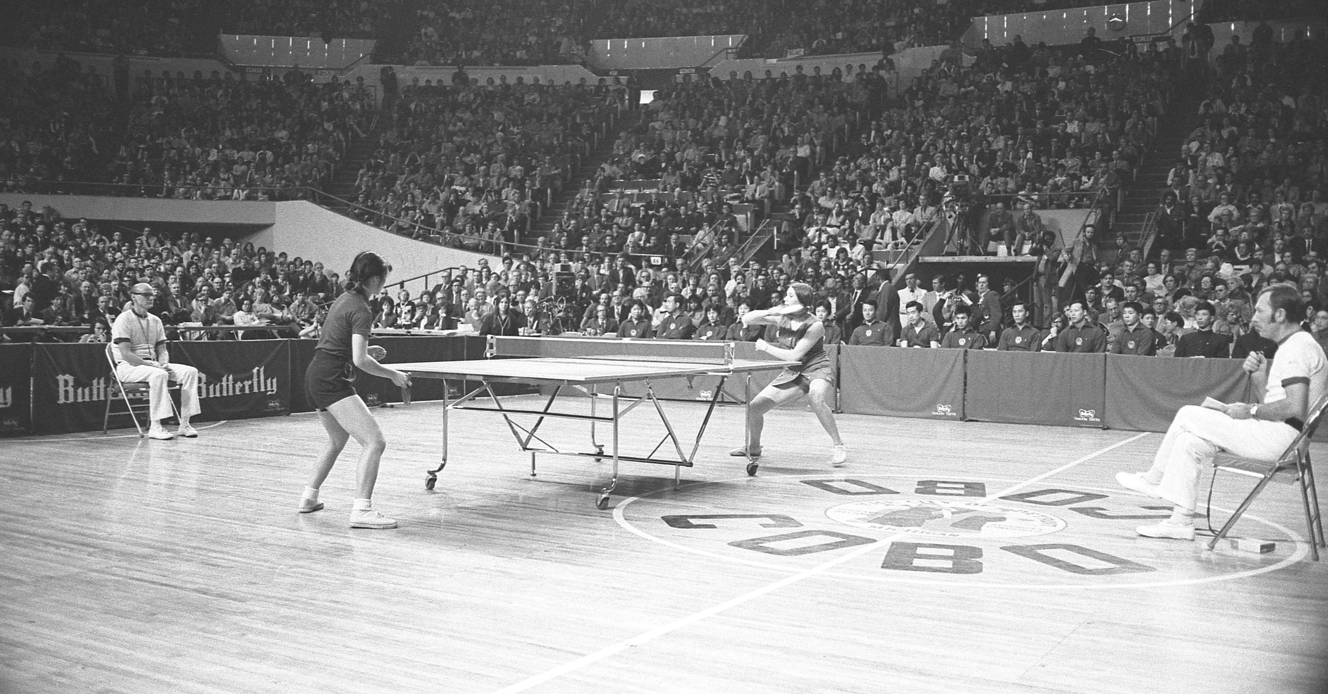 Ping-Pong Diplomacy Match