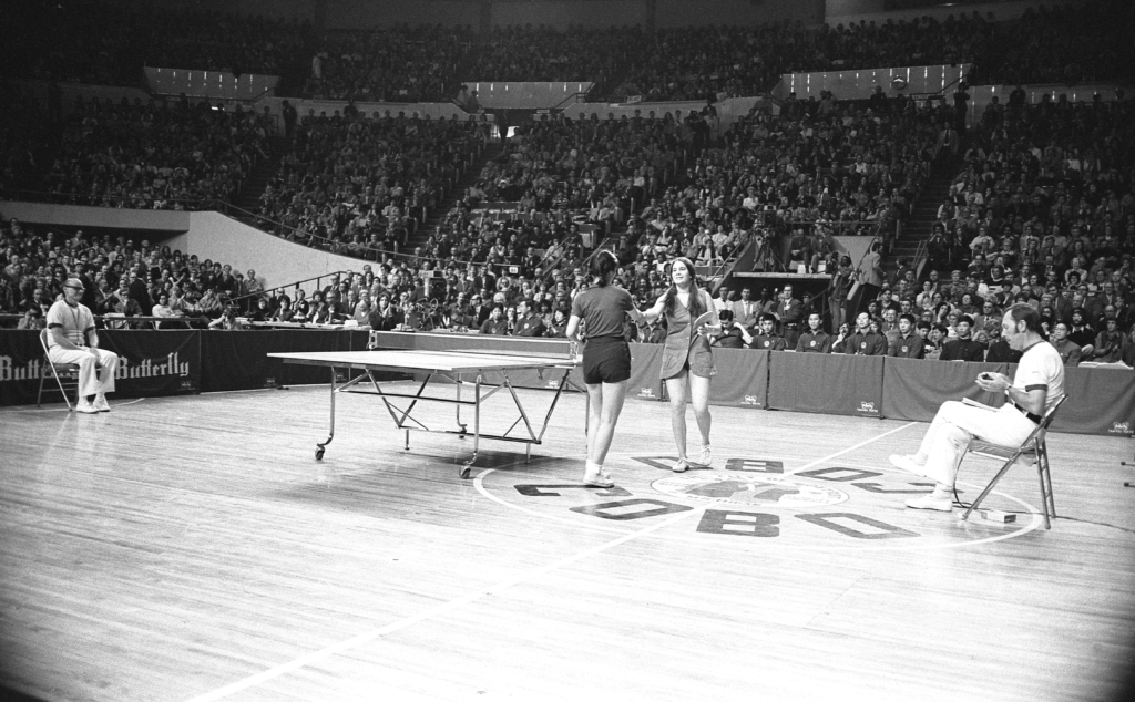 Ping-Pong Diplomacy - Images Courtesy of Mal Anderson for USA Table Tennis